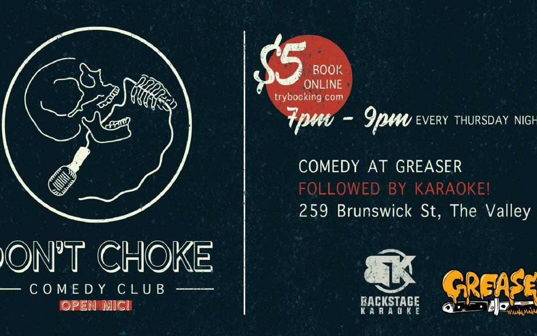 Don't Choke Open Mic Night & Karaoke – WEEKLY!