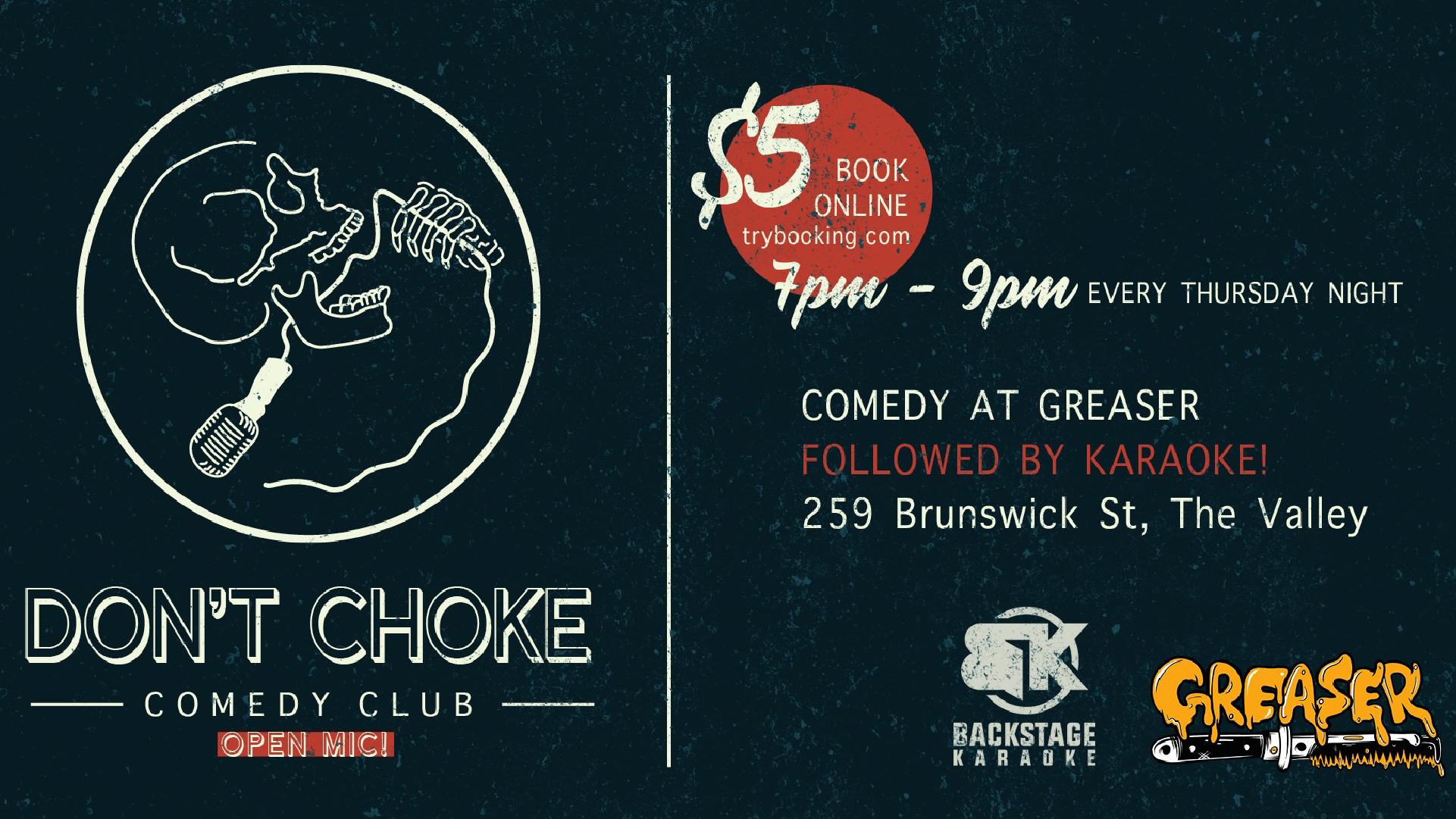Don't Choke Open Mic Night & Karaoke – WEEKLY!