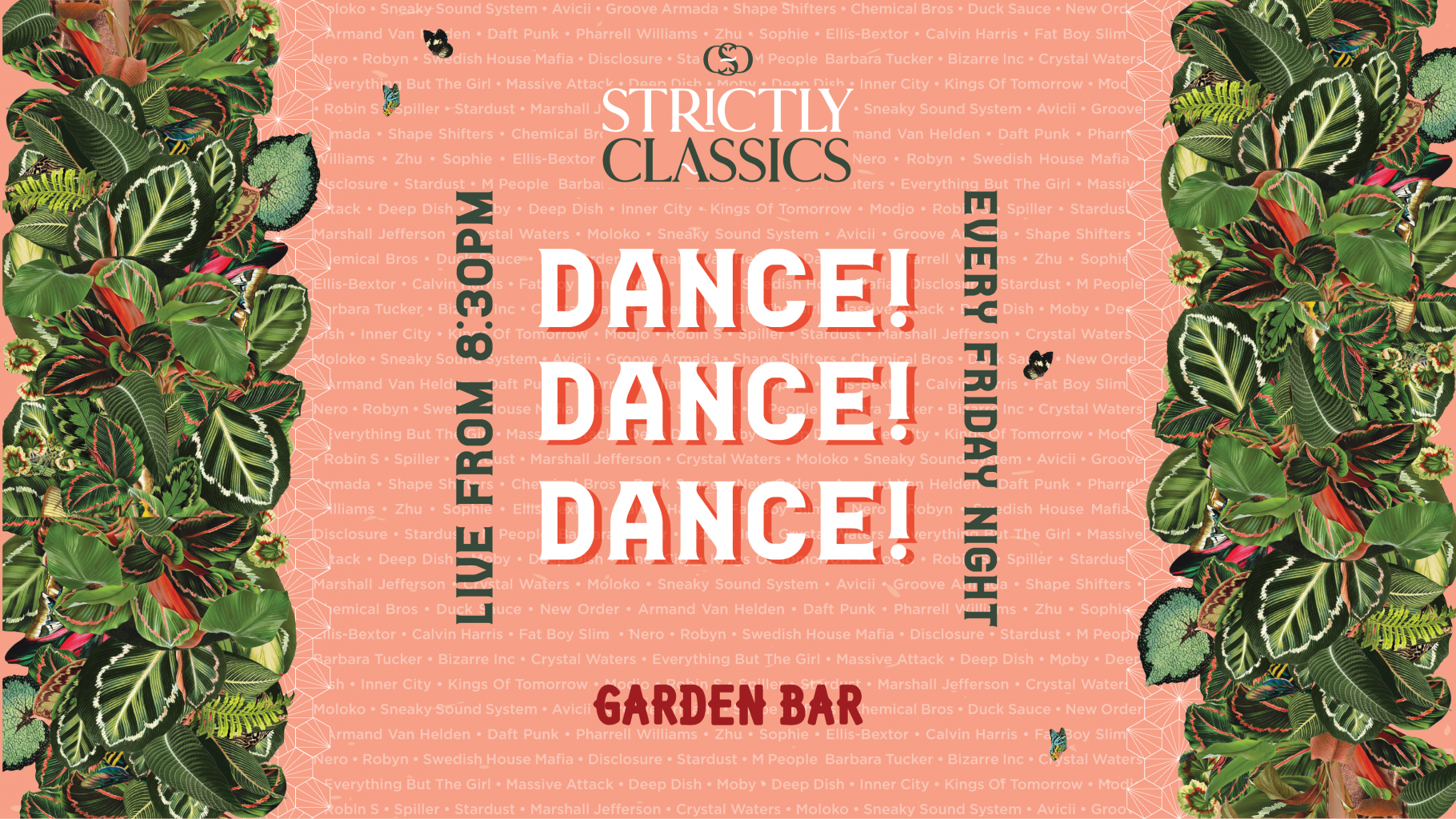 LIVE: Strictly Classics in the Garden Bar