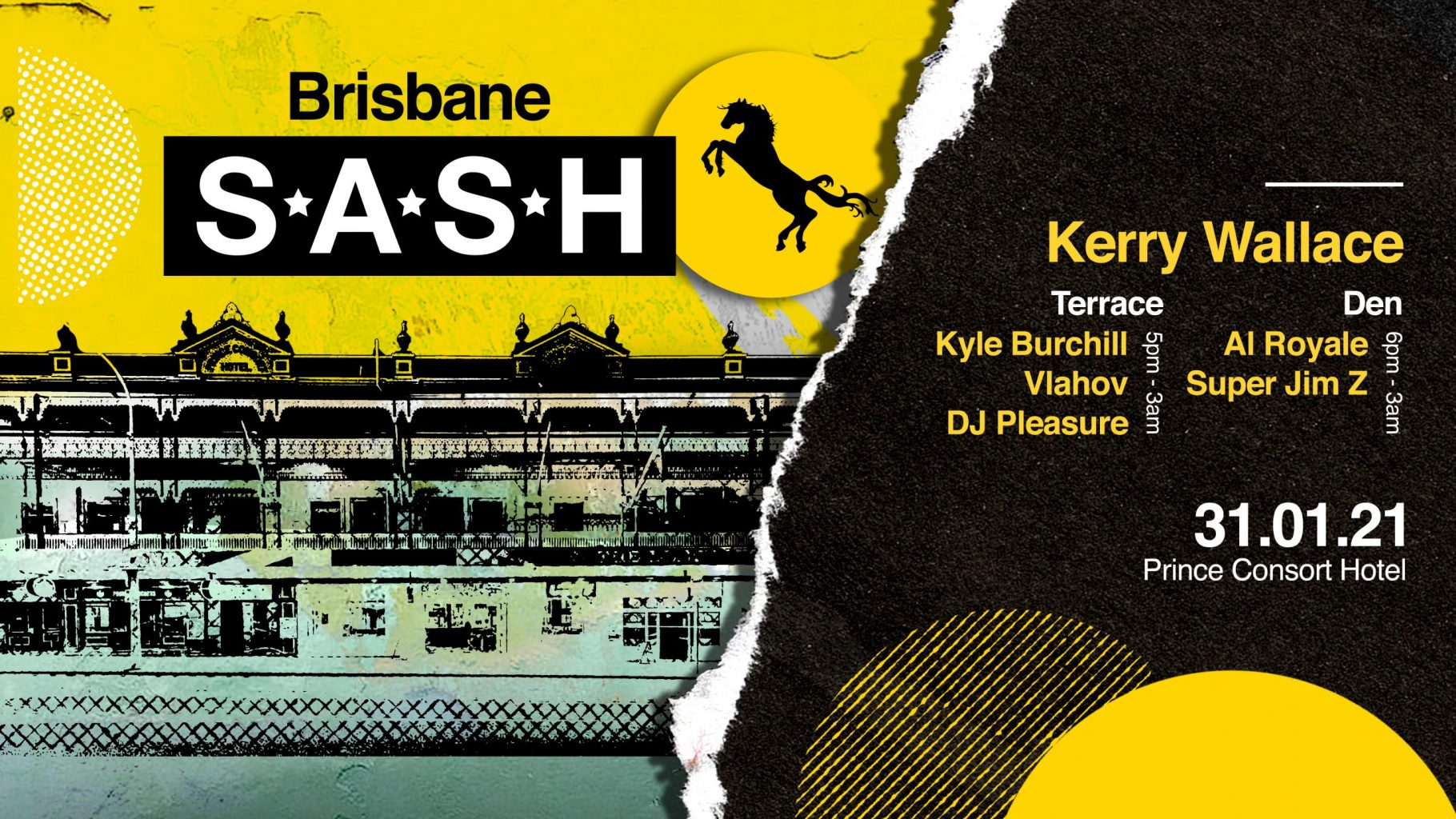 ★ S.A.S.H Brisbane ★ Opening Party ★ Kerry Wallace ★