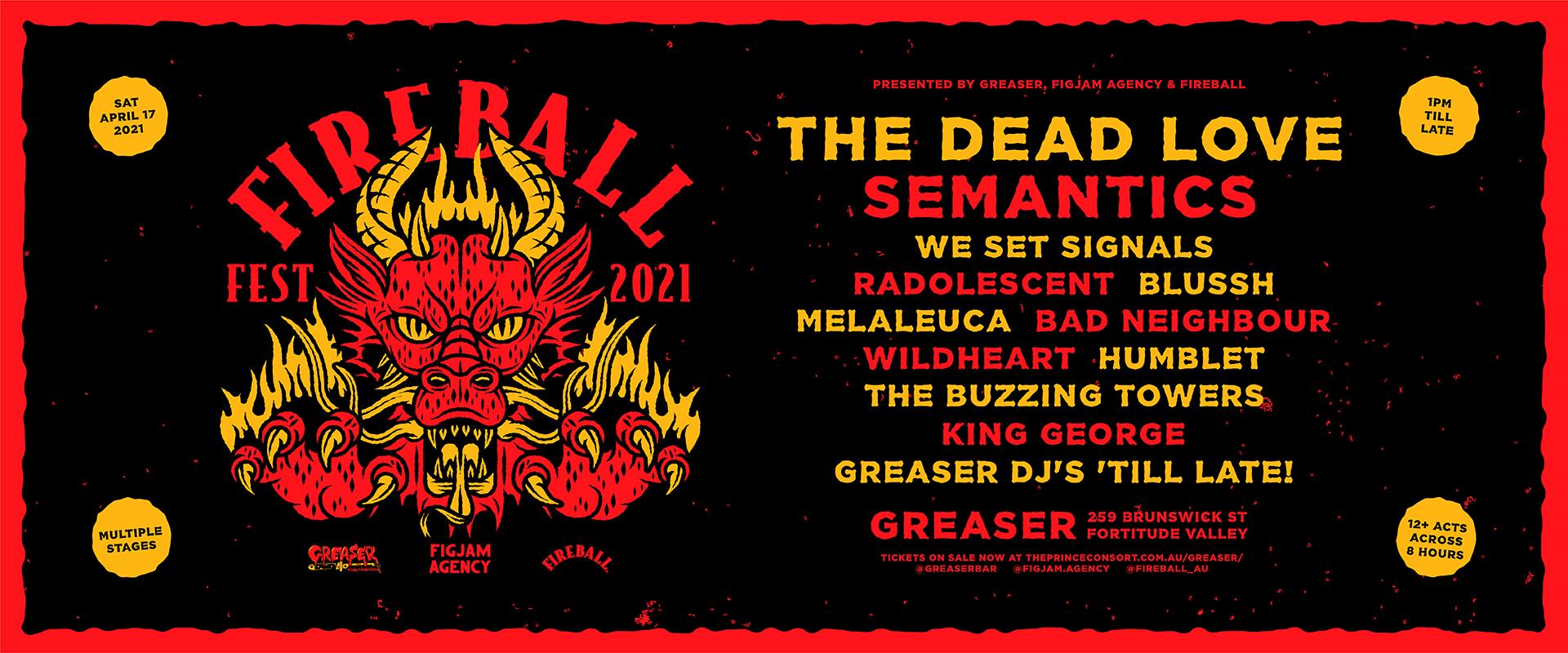 Fireball Festival 2021 – Final Release now on sale!