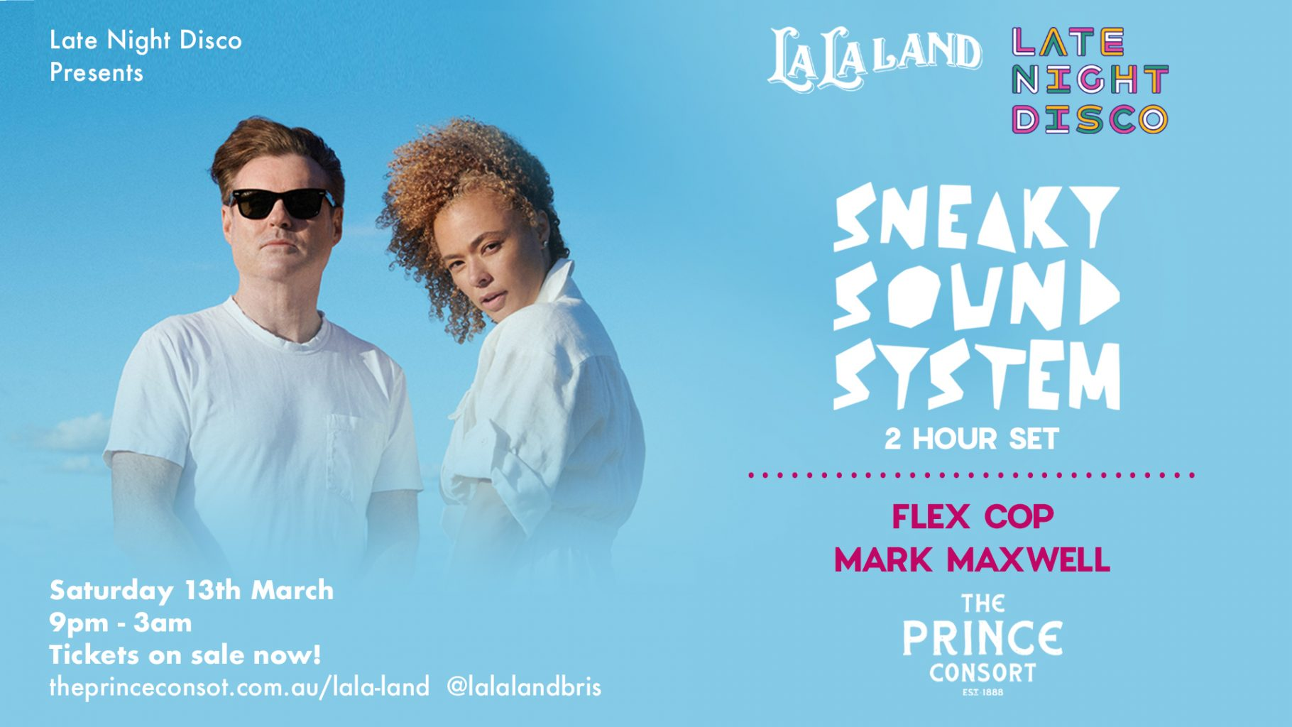 Late Night Disco presents Sneaky Sound System