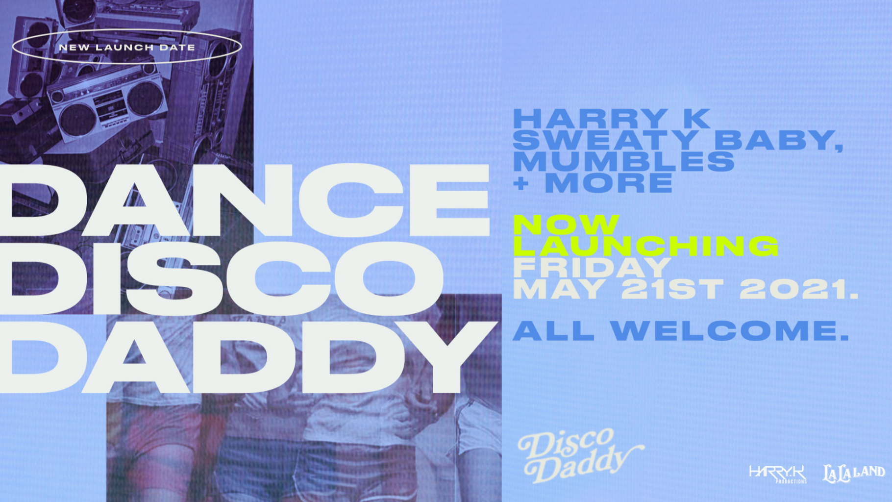Harry K Presents DISCO DADDY