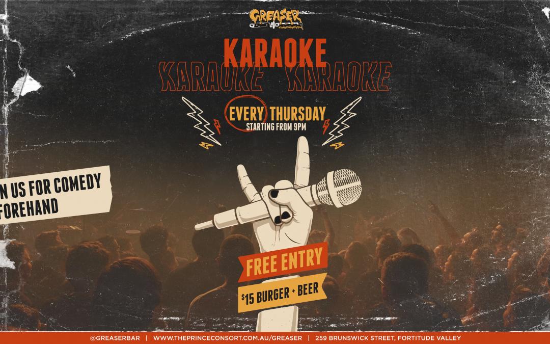 Greaser Karaoke