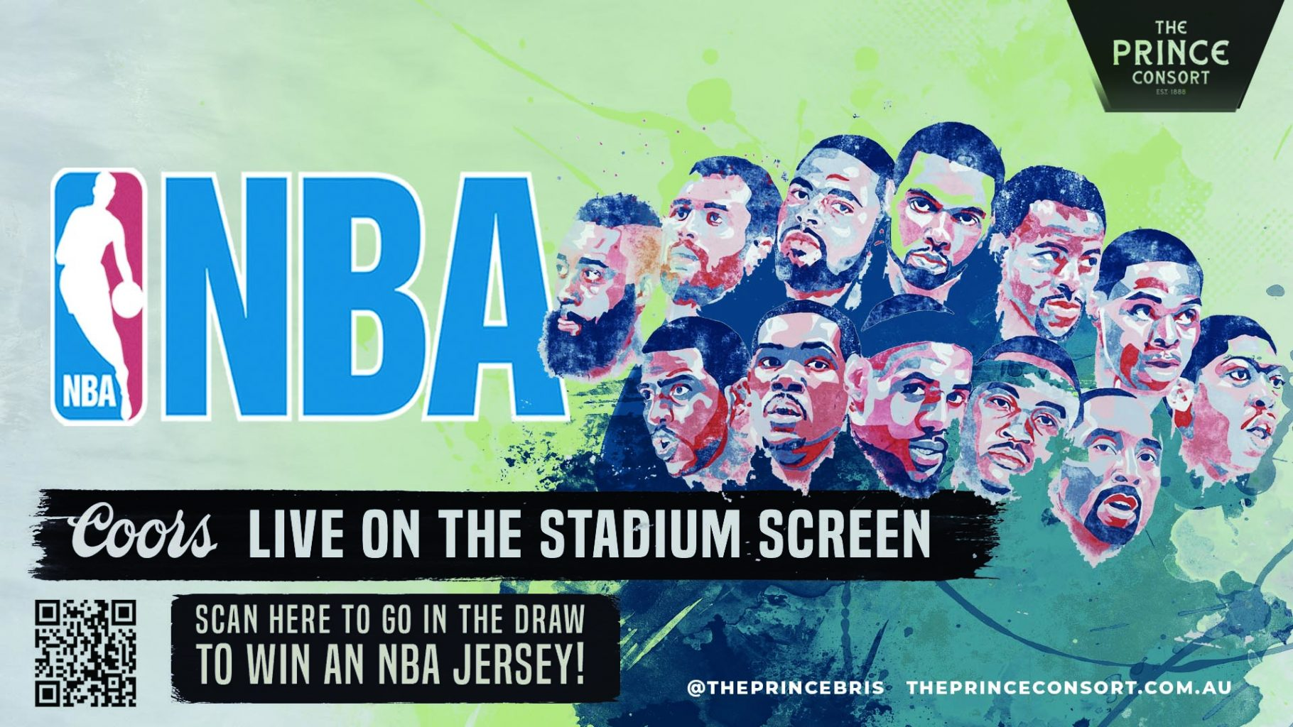 NBA Live and win a Jersey!