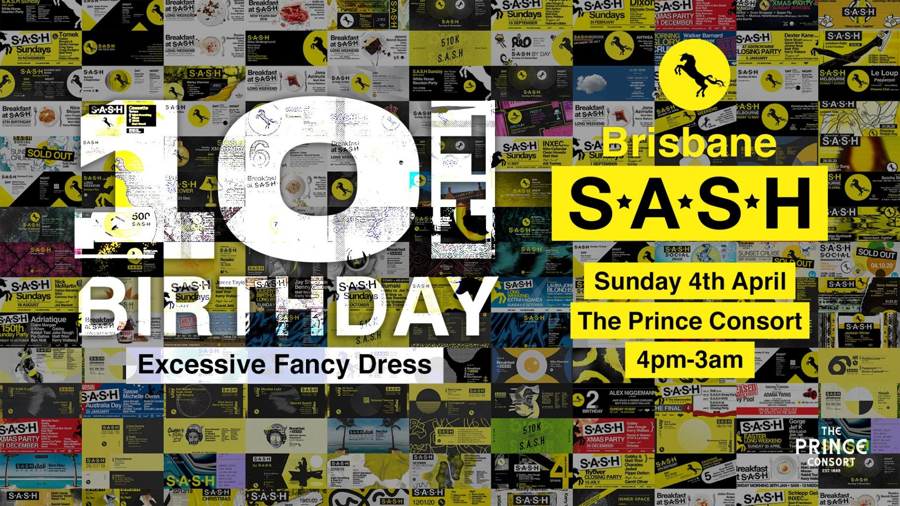 S.A.S.H 10th Birthday