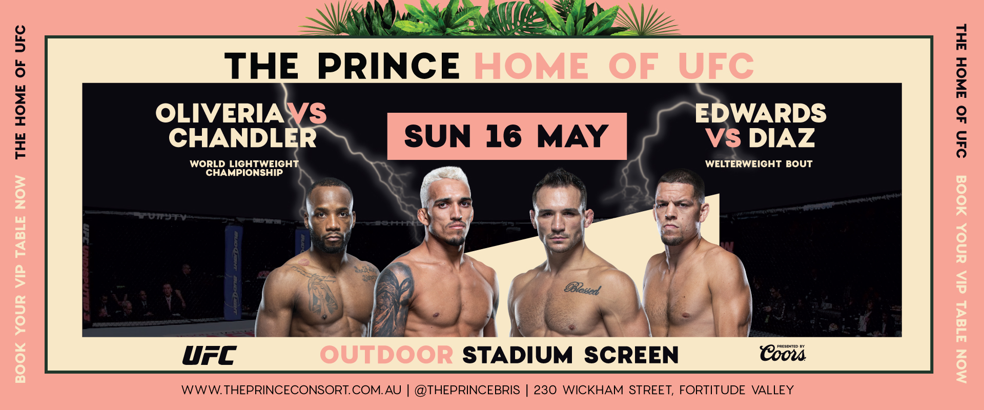UFC 262 at The Prince Consort
