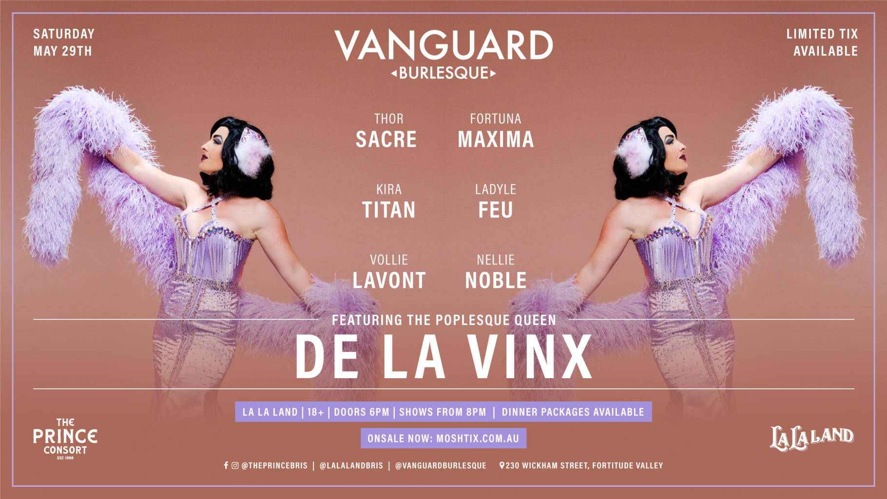 Vanguard Burlesque feat. De La Vinx