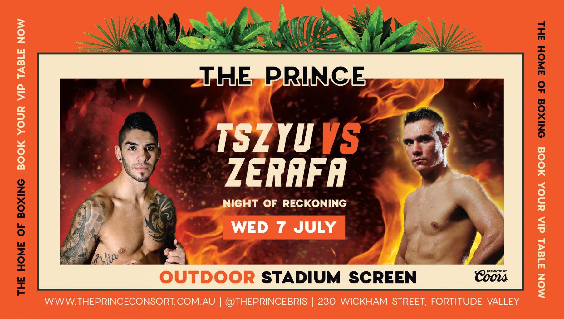 BOXING TSZYU VS ZERAFA