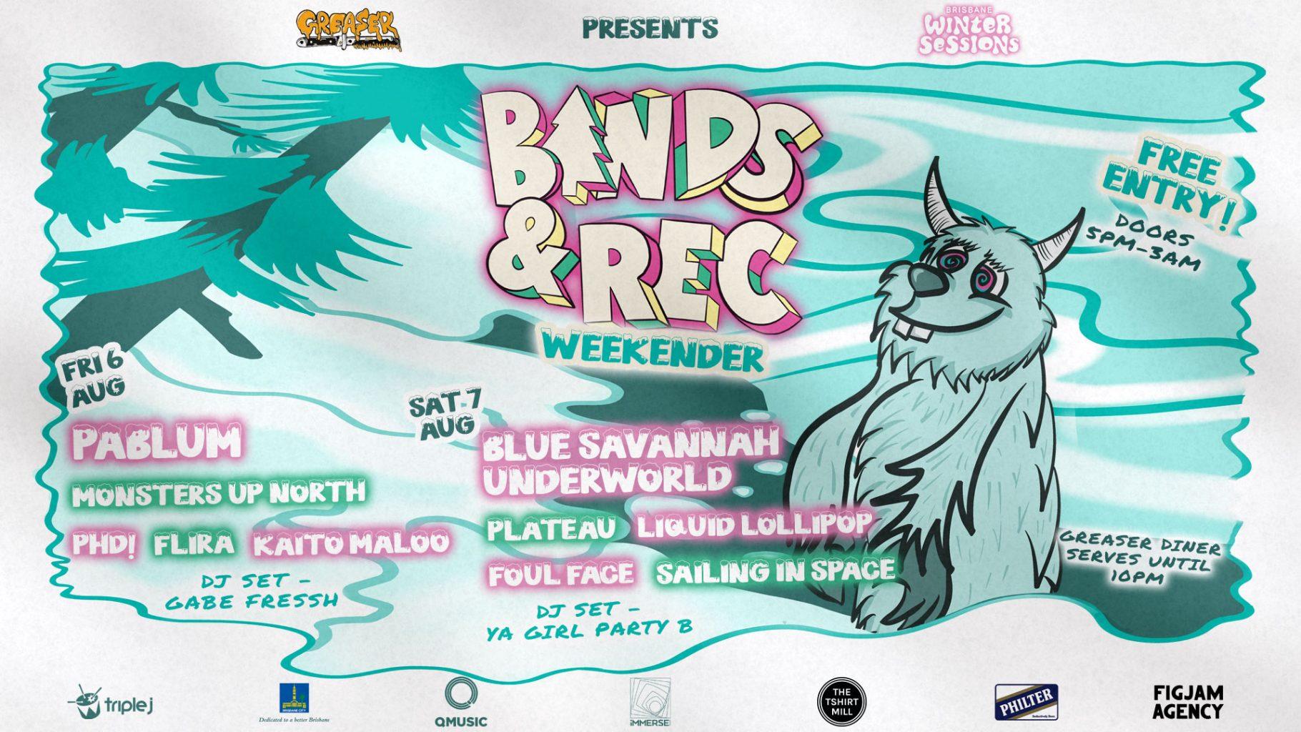 Bands & Rec Weekender