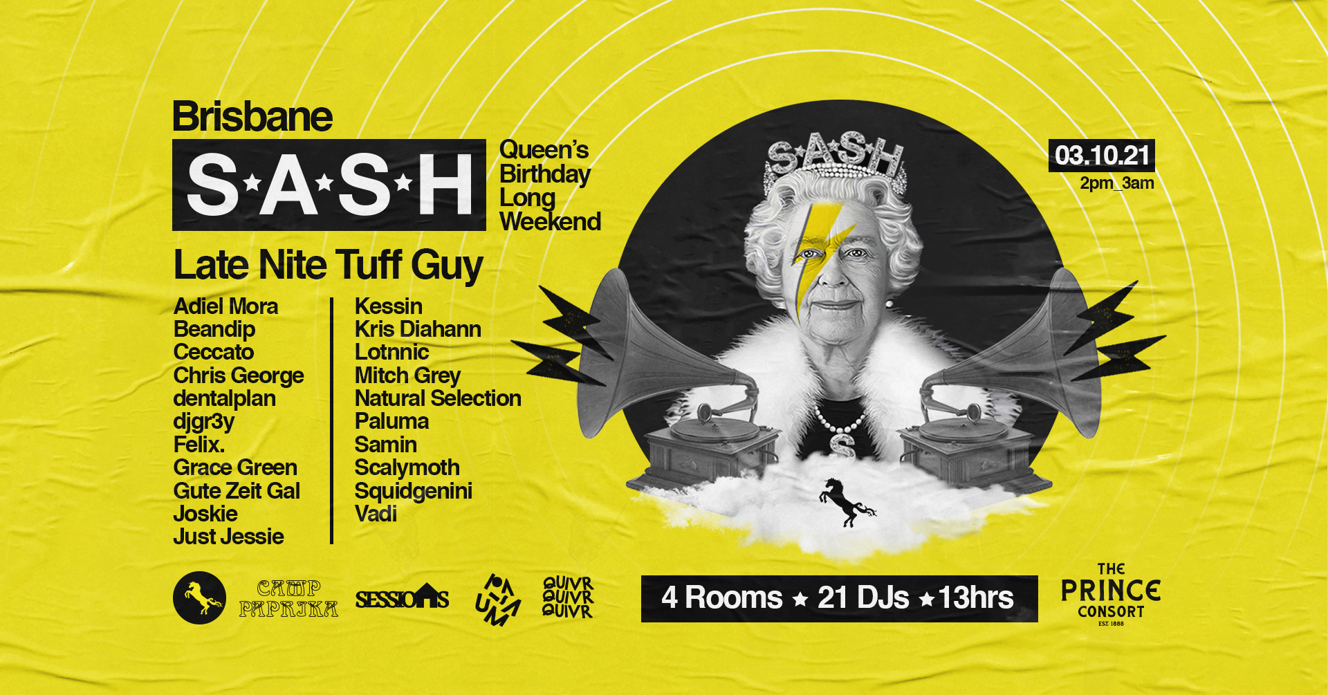 S*A*S*H Queen's Birthday Long Weekend