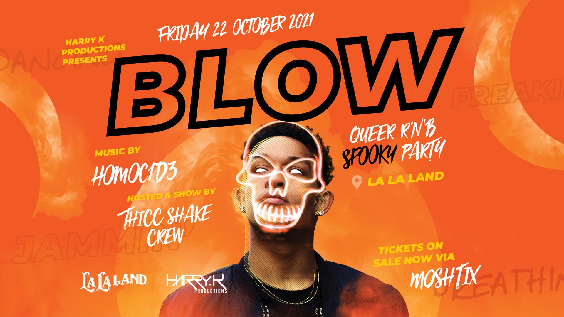BLOW | Queer R'n'B Spooky party