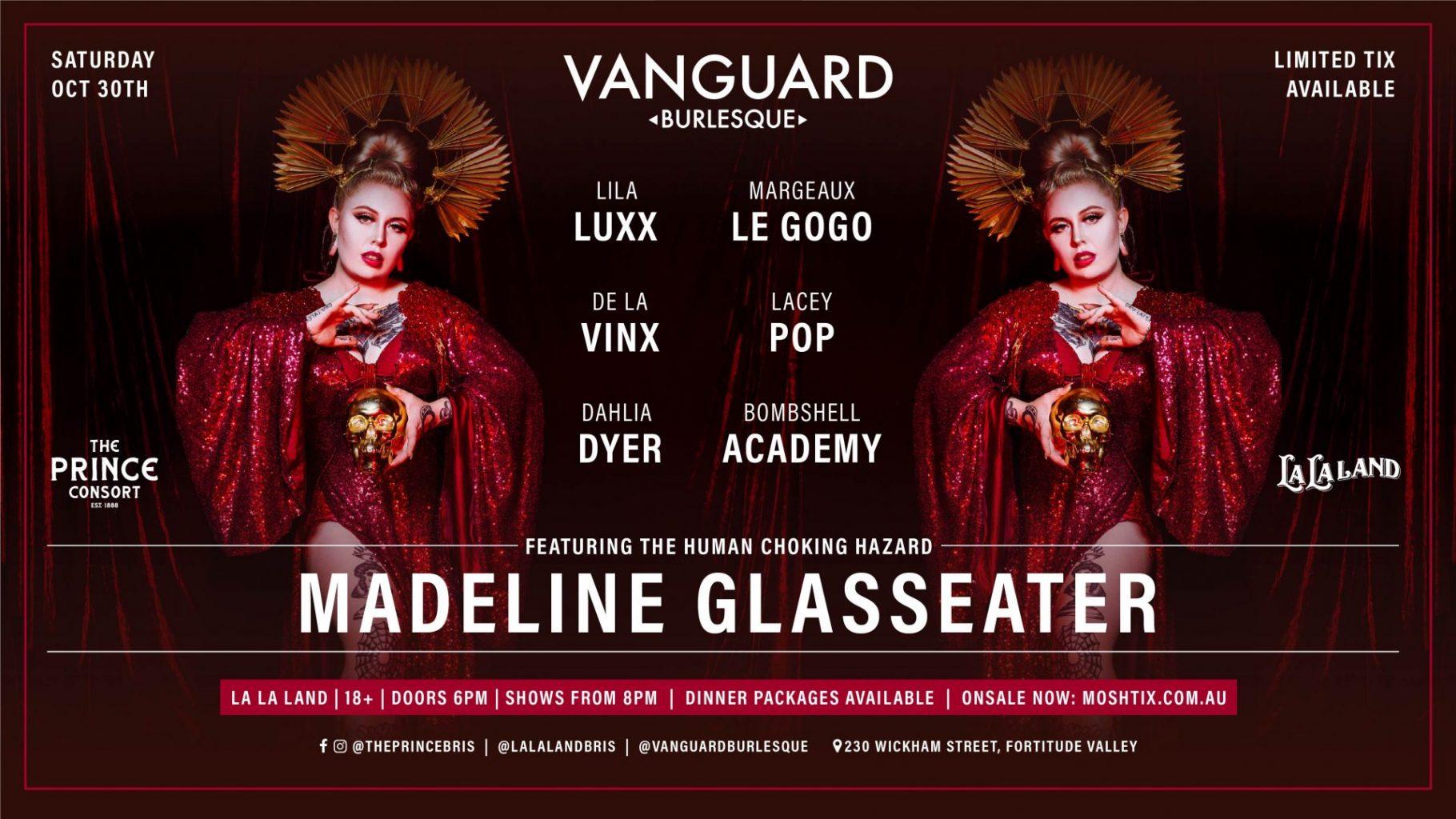 Vanguard Burlesque Feat. Madeline Glasseater