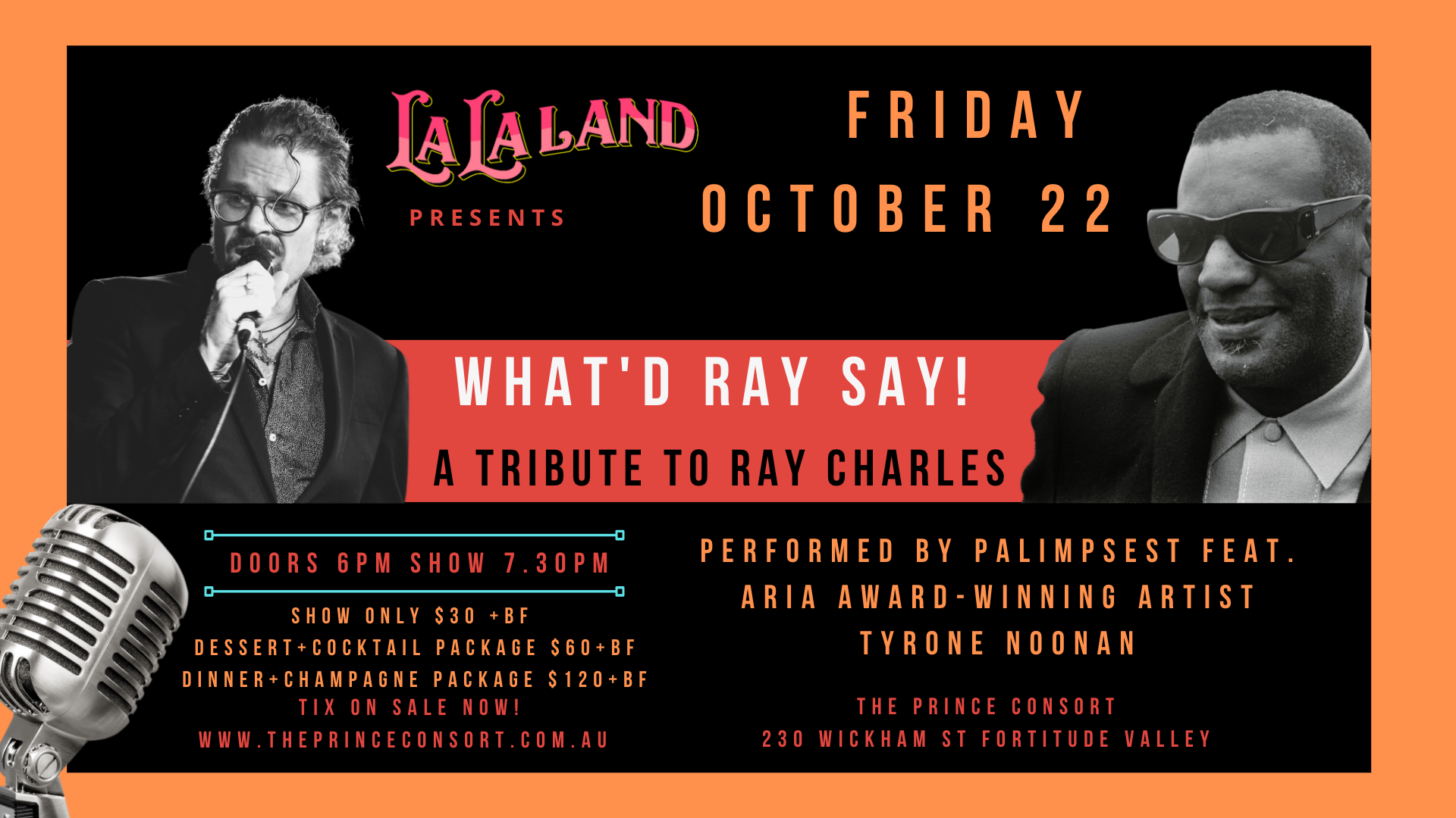 WHAT'D RAY SAY! Celebrating the music ofRay Charles