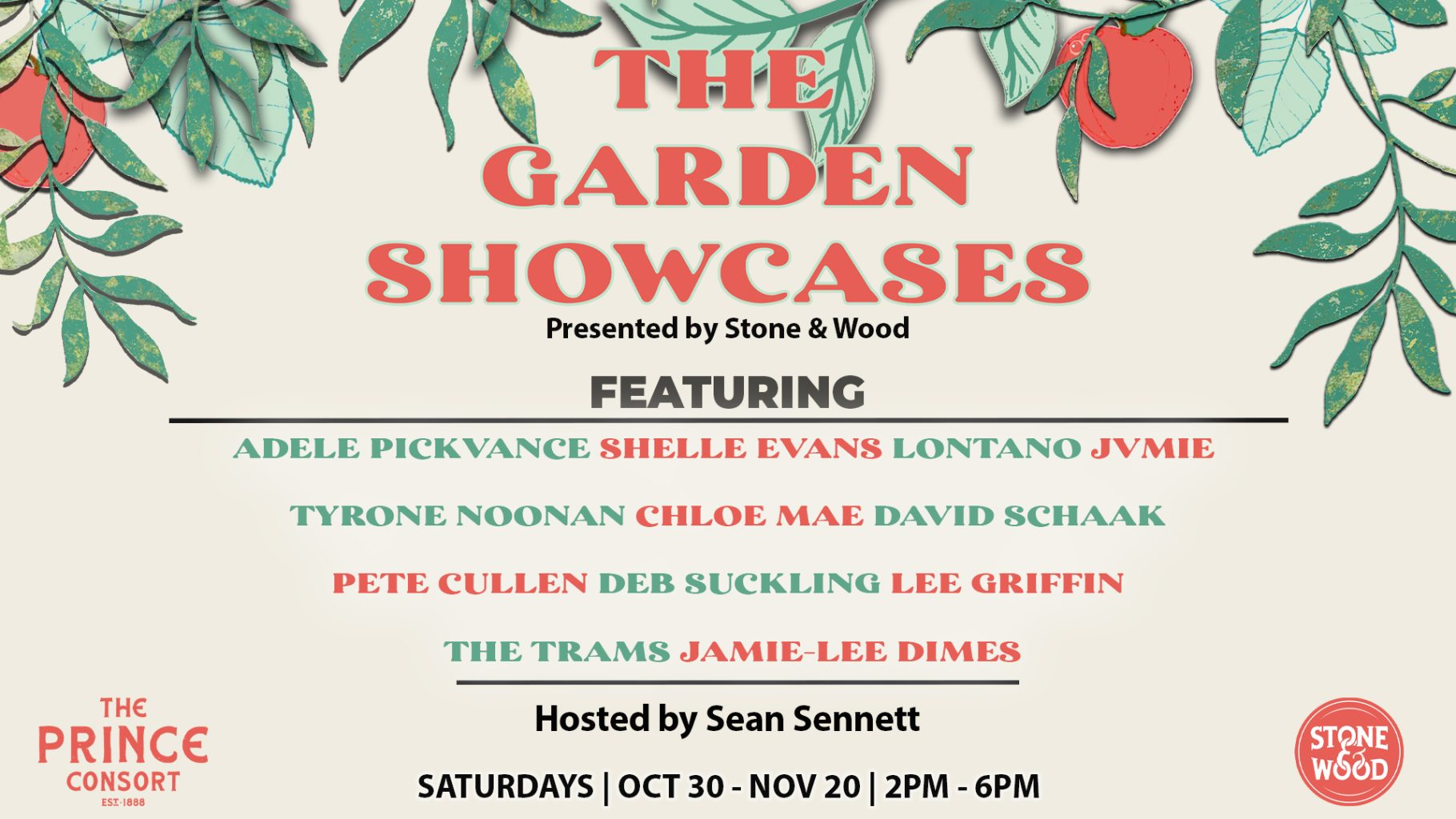 The Garden Showcases Presented by Stone & Wood