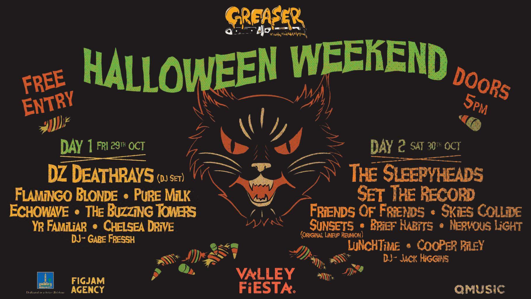Greaser Halloween Weekend