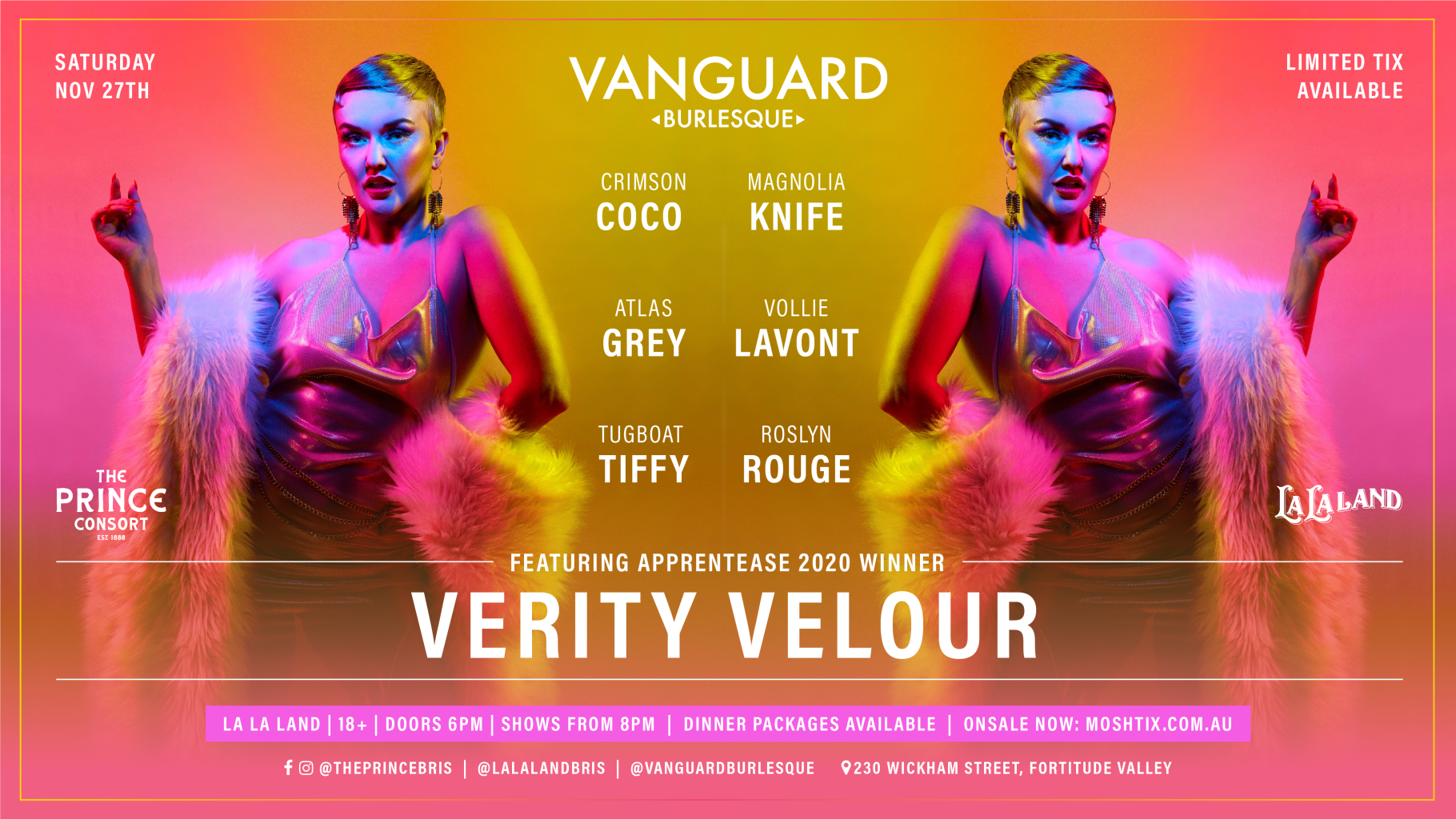 Vanguard Burlesque Ft. Verity velour